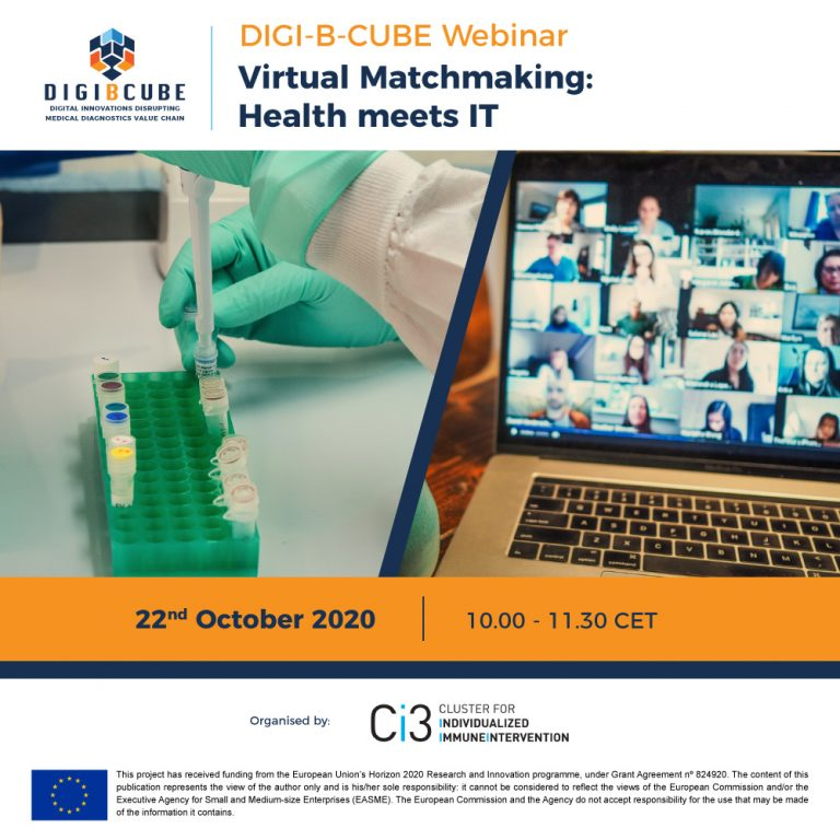 [10/22] Virtual Matchmaking: Health meets IT