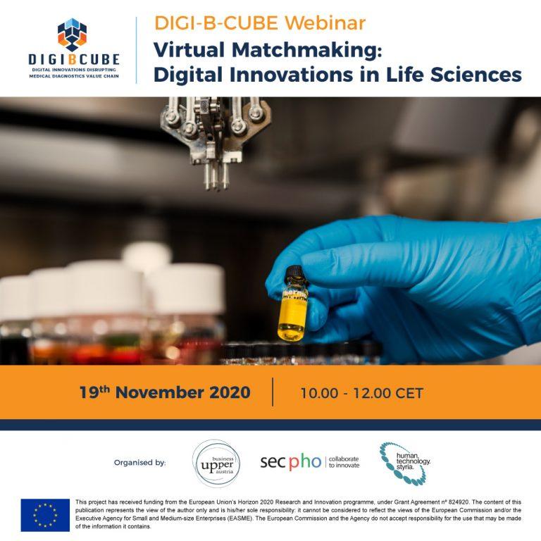 [Postponed] Virtual Matchmaking: Digital Innovations in Life Sciences